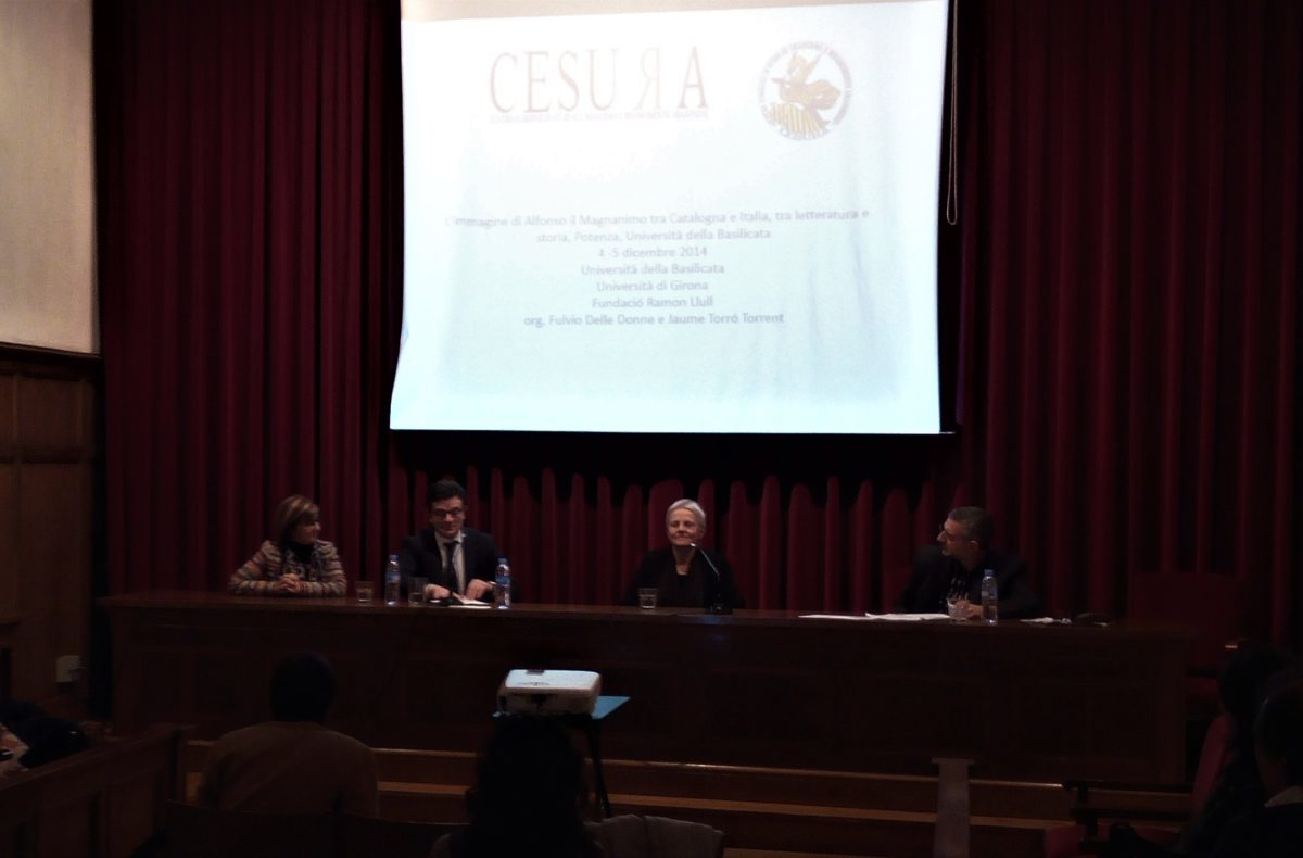 Presentazione di CESURA. Barcelona, Reial Acadèmia de Bones Lletres, 23 febbraio 2018